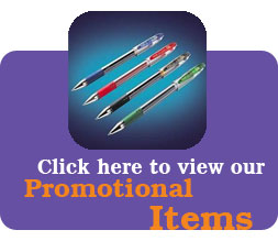 click to view our promotional items