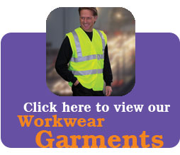 click to view our workwear garments